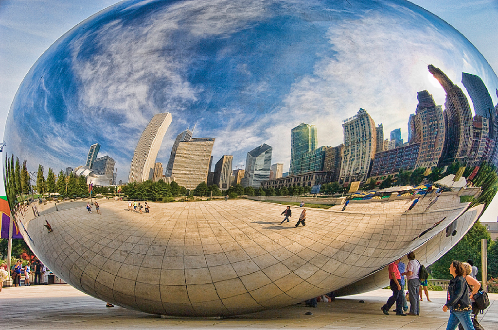 Ross Kaplan - Cloud Gate