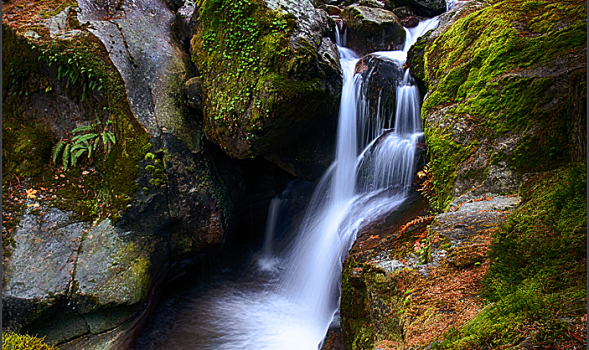 """Cedar Creek Cascade"" - Copyright Karen McClymonds"